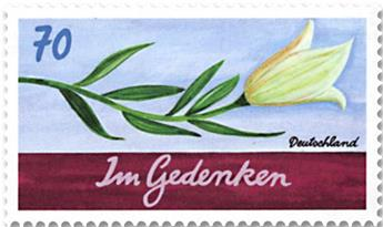 n° 3096 - Timbre ALLEMAGNE FEDERALE Poste