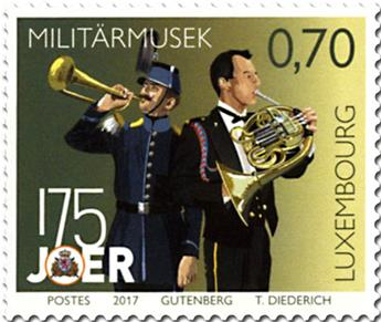 n° 2072/2073 - Timbre LUXEMBOURG Poste