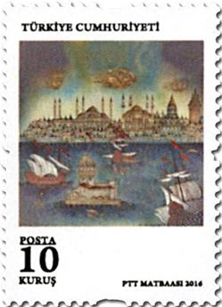n° 3817/3823 - Timbre TURQUIE Poste
