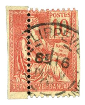 n°116 obl. - Timbre FRANCE Poste