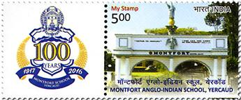 n° 2807A - Timbre INDE Poste
