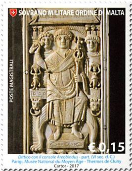 n° 1375/1379 - Timbre ORDRE de MALTE Poste