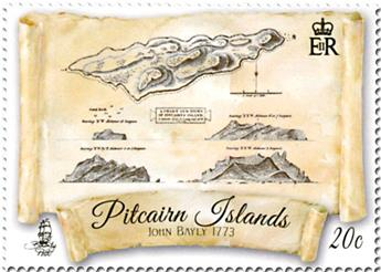 n° 899/902 - Timbre PITCAIRN Poste