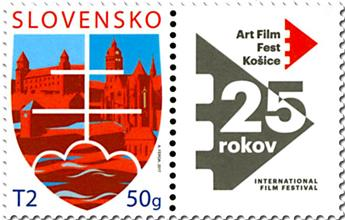 n° 717 - Timbre SLOVAQUIE Poste