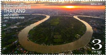 n° 3405/3408 - Timbre THAILANDE Poste