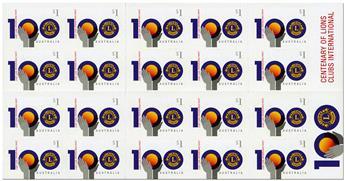 n° C4465 - Timbre AUSTRALIE Carnets