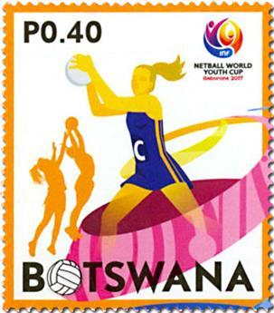 n° 1183/1187 - Timbre BOTSWANA Poste