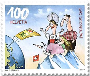 n° 2437/2439 - Timbre SUISSE Poste