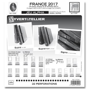 FRANCE ALPHA : 2017 - 2E SEMESTRE (jeux sans pochettes)