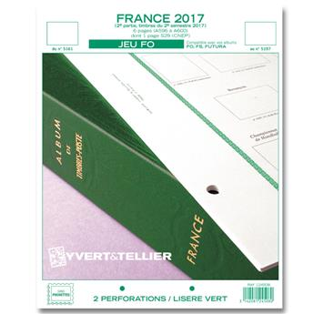 FRANCE FO : 2017 - 2E SEMESTRE (jeux sans pochettes)