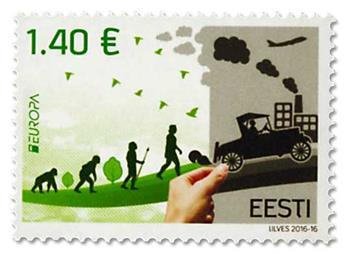 n° 796/797 - Timbre ESTONIE Poste (EUROPA)