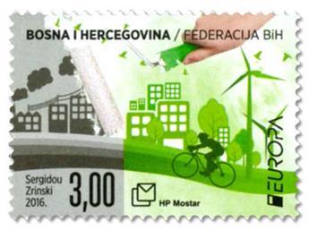 n° 392 - Timbre HERCEG-BOSNA Poste (EUROPA)