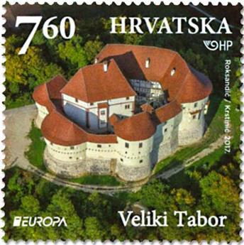 n° 1183/1184 - Timbre CROATIE Poste (EUROPA )