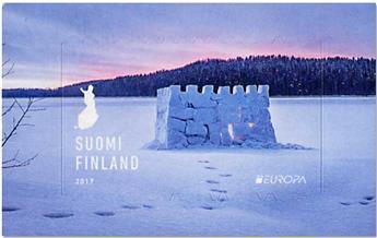 n° 2458 - Timbre FINLANDE Poste (EUROPA)
