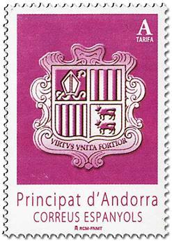 n° 425 - Timbre ANDORRE ESPAGNOL Poste