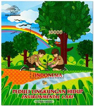 n° 326 - Timbre INDONESIE Blocs et feuillets