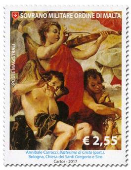 n° 1380/1381 - Timbre ORDRE de MALTE Poste