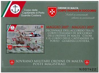n° F1384 - Timbre ORDRE de MALTE Poste