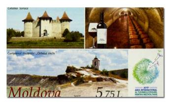 n° 862 - Timbre MOLDAVIE Poste