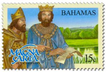 n° 1518A/1518D - Timbre BAHAMAS Poste