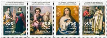n° 655/658 - Timbre GUINÉE-ÉQUATORIALE Poste