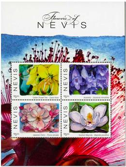 n° 2666/2669 - Timbre NEVIS Poste