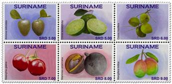 n° 2710/2715 - Timbre SURINAME Poste