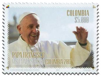 n° 1830 - Timbre COLOMBIE Poste
