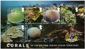 n°43 - Timbre OCEAN INDIEN Blocs et feuillets
