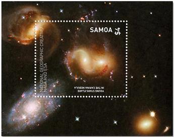 n°104 - Timbre SAMOA Blocs et feuillets