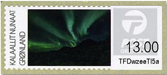 n°17/20 - Timbre GROENLAND Timbres de distributeurs