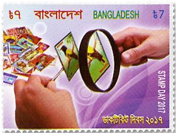 n°1144 - Timbre BANGLADESH Poste