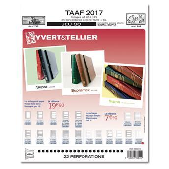 TAAF SC : 2017 (Jeu avec pochettes)