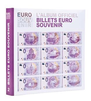 """Album imprimé pour billets """"EURO SOUVENIR"""" Tome 2 LEUCHTTURM"""