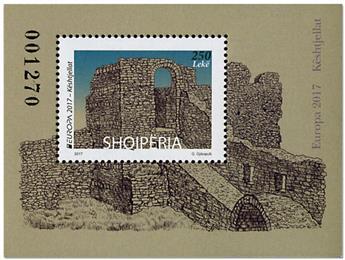 n° 158 - Timbre ALBANIE Blocs et feuillets (EUROPA)