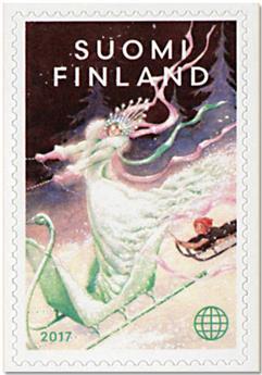 n° 2514 - Timbre FINLANDE Poste