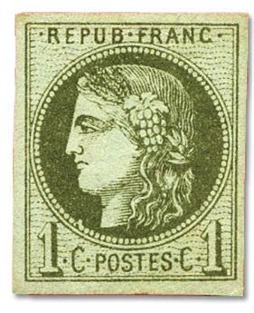 n°39A* - Timbre FRANCE Poste