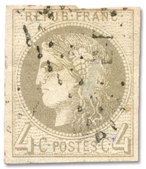 n°41B obl. TB - Timbre FRANCE Poste