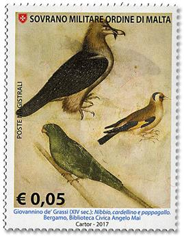 n° 1405/1410 - Timbre ORDRE de MALTE Poste