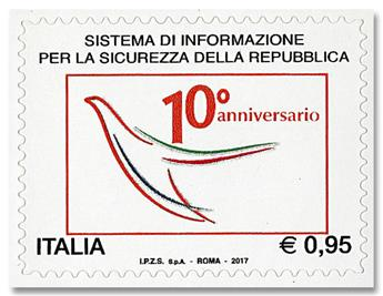 n° 3786 - Timbre ITALIE Poste