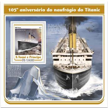 n° 1028 - Timbre SAINT-THOMAS ET PRINCE Blocs et feuillets