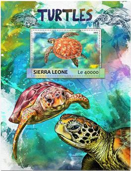 n° 1153 - Timbre SIERRA LEONE Blocs et feuillets