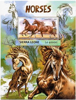 n° 1163 - Timbre SIERRA LEONE Blocs et feuillets