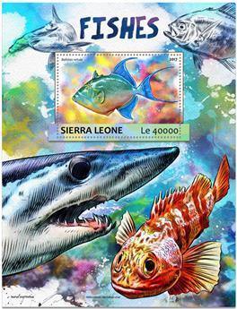 n° 1168 - Timbre SIERRA LEONE Blocs et feuillets