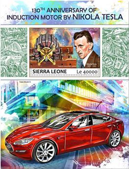 n° 1238 - Timbre SIERRA LEONE Blocs et feuillets