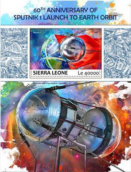 n° 1243 - Timbre SIERRA LEONE Blocs et feuillets