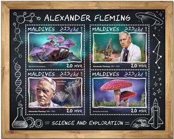 n° 5798/5801 - Timbre MALDIVES Poste