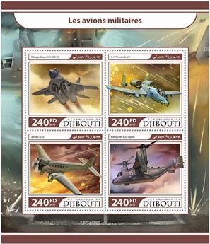 n° 1504/1507 - Timbre DJIBOUTI Poste