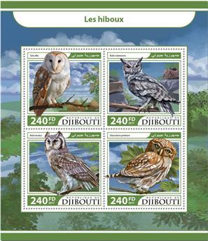 n° 1584/1587 - Timbre DJIBOUTI Poste
