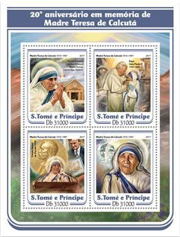n° 5729/5732 - Timbre SAINT-THOMAS ET PRINCE Poste